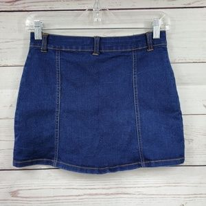 Limited Too Bottoms - Limited Too front button down Jean skirt